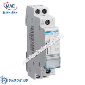 Timer 24h Hager - Model EPN518 dòng Latching Relay