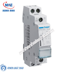 Timer 24h Hager - Model EPN523 dòng Latching Relay