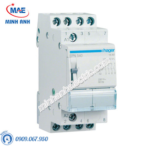 Timer 24h Hager - Model EPN540 dòng Latching Relay
