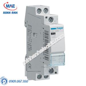 Timer 24h Hager - Model ESC225 dòng Contactor