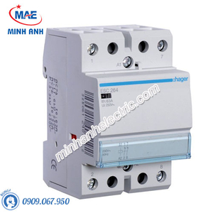 Timer 24h Hager - Model ESC264 dòng Contactor