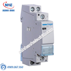 Timer 24h Hager - Model ESD240 dòng Contactor