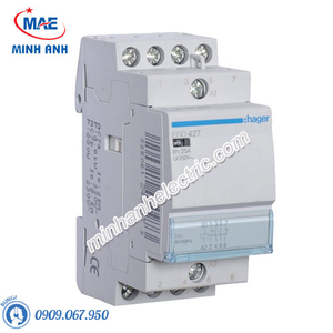Timer 24h Hager - Model ESD427 dòng Contactor