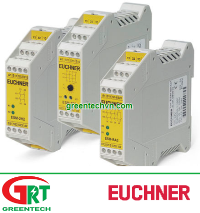 Euchner ESM-2H2 | Rơ-le an toàn Euchner ESM-2H2 | Safety relay Euchner ESM-2H2
