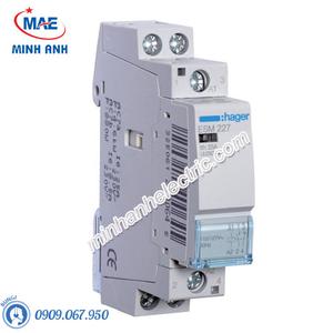 Timer 24h Hager - Model ESM227 dòng Contactor