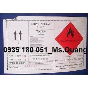 Ethyl acetate (EA) C4H8O2