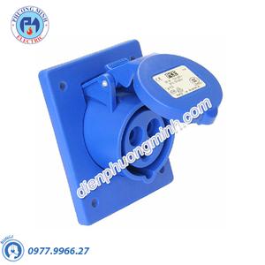 Ổ cắm âm loại không kín nước dạng nghiêng - Model F413-6