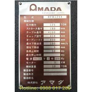 Máy chấn Amada HFB 1254