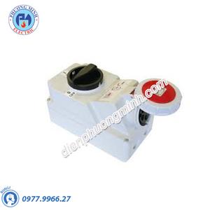 Ổ cắm công nghiệp kèm công tắc loại kín nước - Model F75252-6