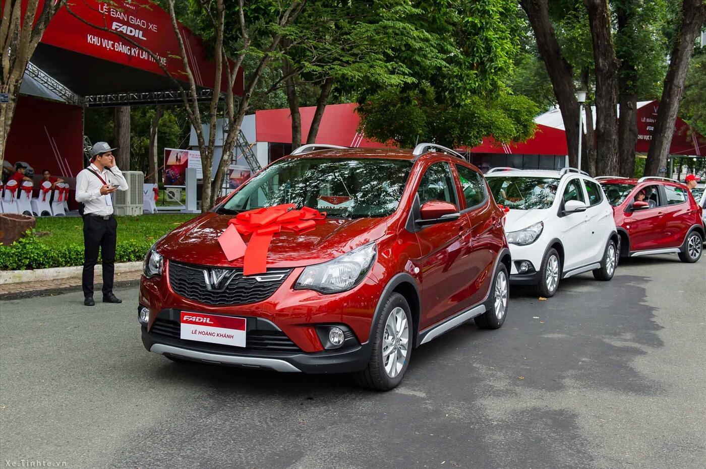 VinFast Fadil Hatchback 1.4L AT Phiên Bản Tiêu Chuẩn (Máy xăng) - Hình 3