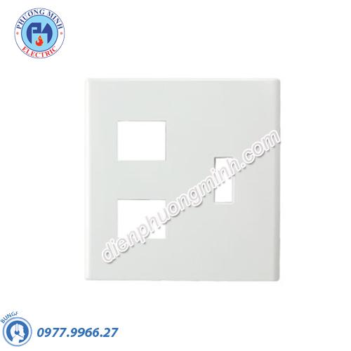 Mặt góc vuông dùng cho 1CB(Aptomat) & 3 thiết bị - Model FB7842H