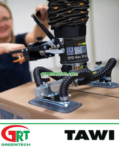 VM30 | Cardboard box vacuum tube lifter | Hộp các tông nâng ống chân không |Tawi Việt Nam
