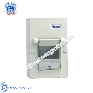 Tủ điện vỏ kim loại chứa 2 module - Model FDP102