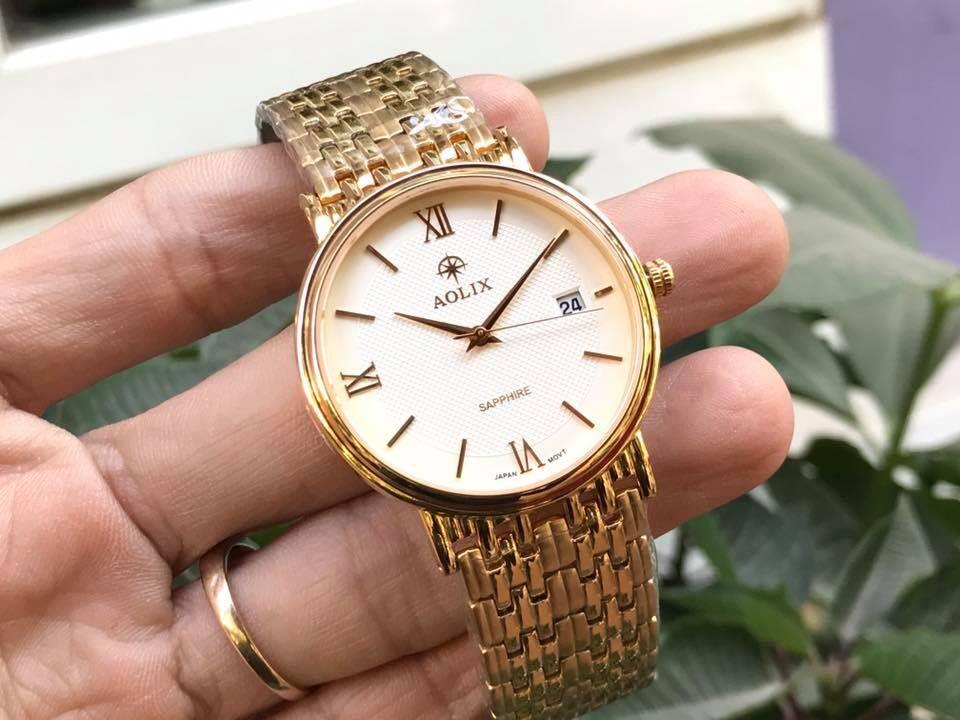 Đồng hồ nam chính hãng Aolix al 9100g-mkt