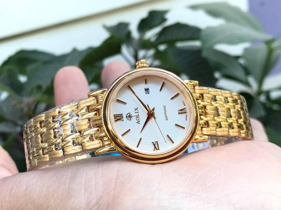 Đồng hồ nữ chính hãng aolix al 9100l - mkt