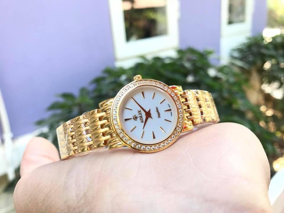 Đồng hồ cặp đôi chính hãng Aolix al 9039g - mkt