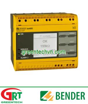 ISOMETER® iso685-…-B | AC network insulation monitor | Màn hình cách điện mạng AC | Bender Việt Nam