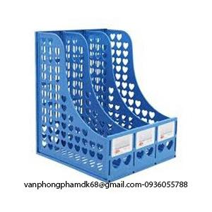File nan nhựa 3 ngăn