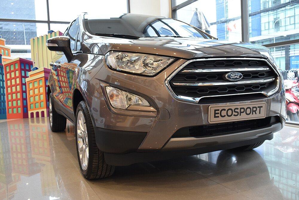 Ecosport 1.0L AT Titanium  với thiết kế ngoại thất mới mạnh mẽ