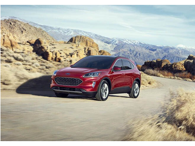 Ford Escape 2020 có giá bán chính thức từ 605tr cho bản tiêu chuẩn