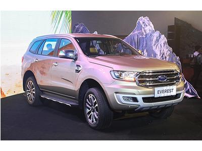 Ford Everest 2019 tích hợp thêm nhiều tính năng vượt trội giá chỉ từ 850 triệu