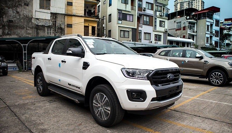 Ford ranger bán chạy nhất phân khúc bán tải tháng 5 năm 2021