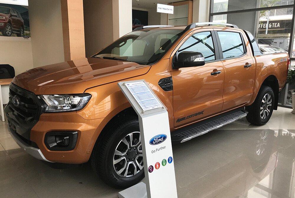 Phong cách thiết kế Kinetic mang đến cho chiếc xe Ford Ranger rắn rỏi với những đường nét khí động học hoàn hảo và tinh tế