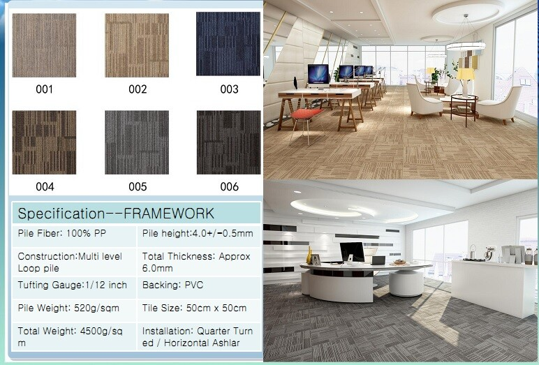 Thảm viên trải sàn Framework carpet