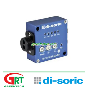 FS 12-50 M G3-B8   Di-Soric FS 12-50 M G3-B8   Cảm biến   Optic sensor   Di-Soric Vietnam