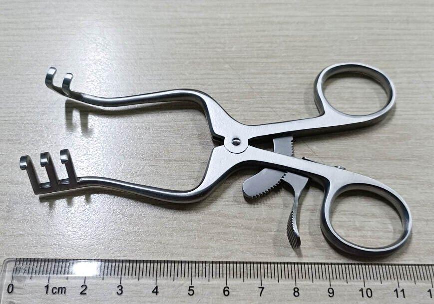 Banh tự động Baby Weitlaner, 2x3 răng tù, 11 cm G14-5701-10