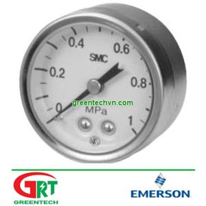 G43-10-01   SMC G43-10-01   AG43-10-01 gauge   Đồng hồ áp lực G43-10-01 gauge   SMC Vietnam