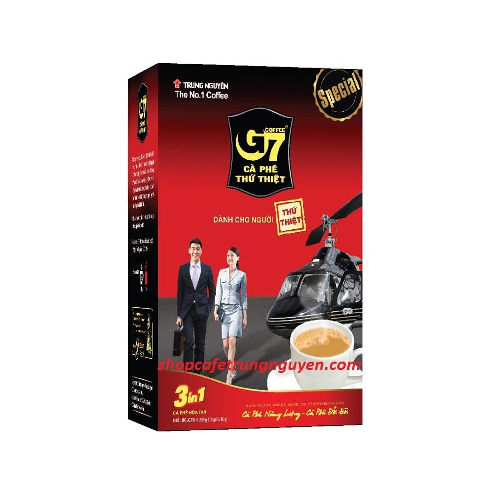 Cà phê G7 hòa tan 3in1 18 gói