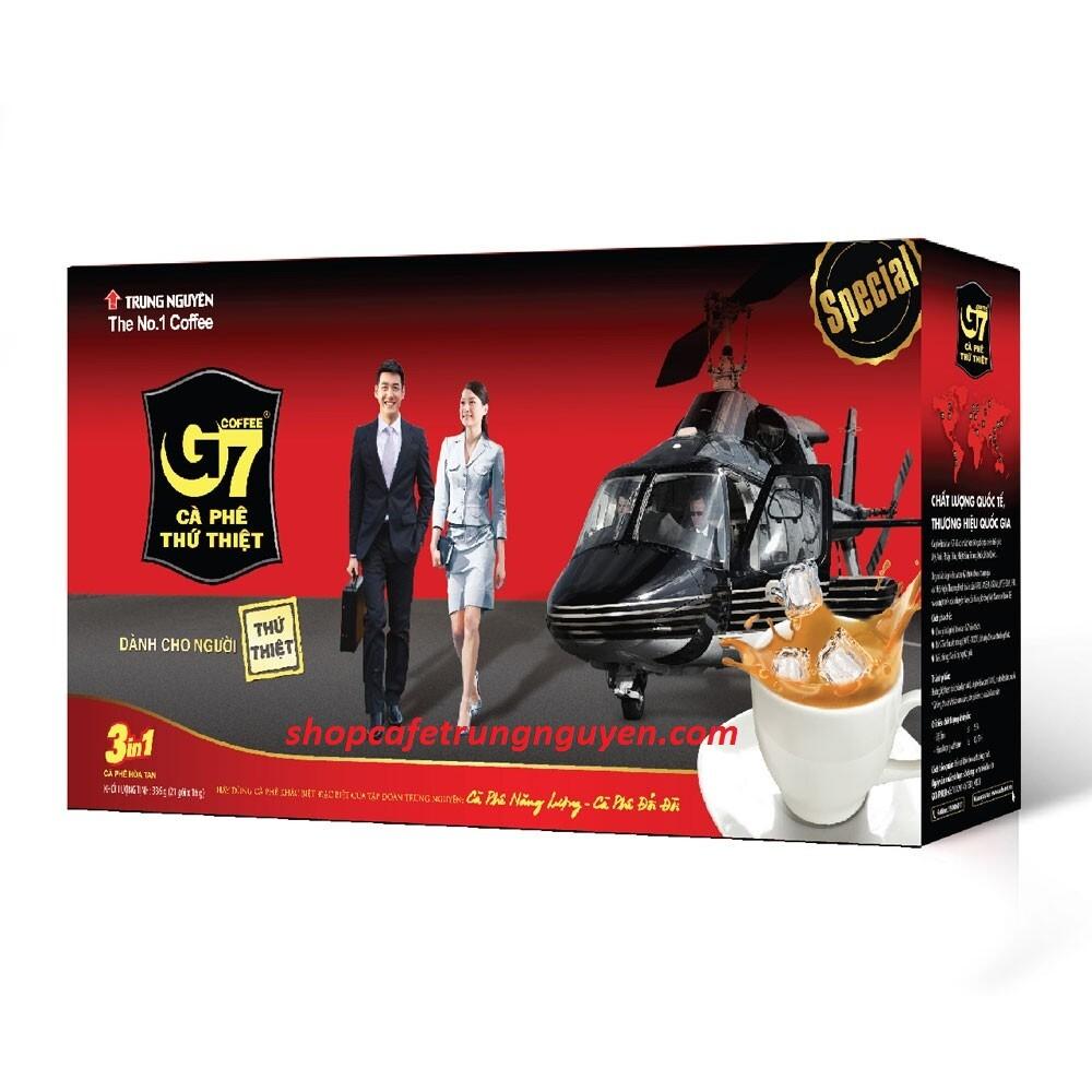 Cà phê G7 hòa tan 21 gói