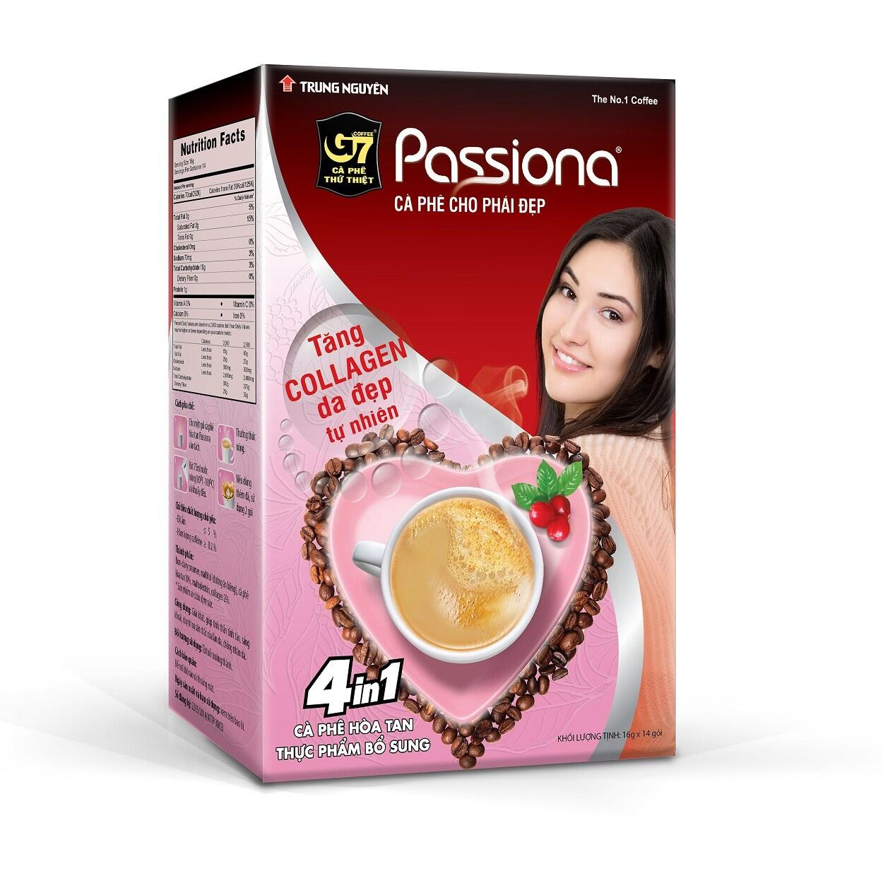 Cafe hòa tan Passiona