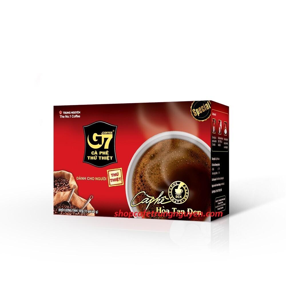 Cà phê G7 hòa tan ĐEN