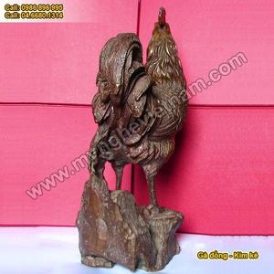 Gà đồng kim kê, tượng gà phong thủy chống lại thói trăng hoa