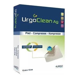 Gạc chứa bạc làm sạch, giúp chống lại nhiễm khuẩn cục bộ UrgoClean Ag