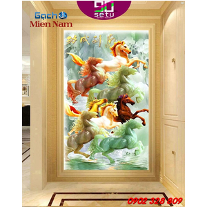 Gạch 3d Con Ngựa CNM05