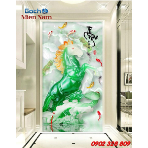 Gạch 3d Con Ngựa CNM29