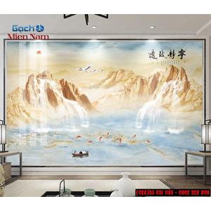 Gạch 3d giả đá GGD48