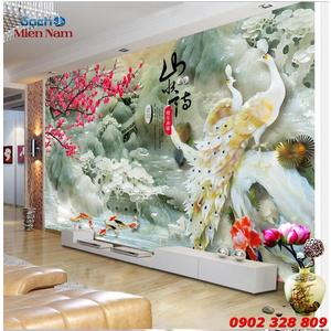 Gạch 3d Hoa Anh Đào HAD09