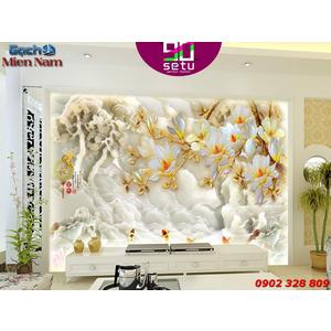 Gạch 3d Hoa Anh Đào HAD17