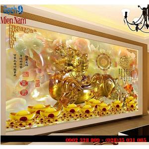 Gạch 3d Linh Vật Phong Thủy LVM02