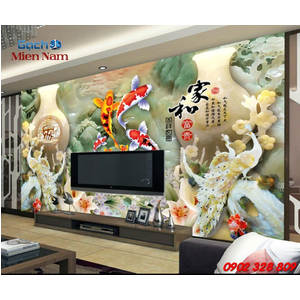Gạch 3D Mẫu Ngọc GN01