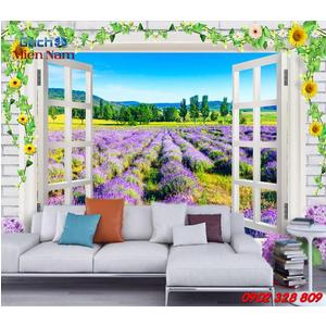 Gạch 3d ốp tường mẫu cửa sổ CS07