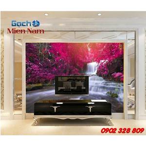 Gạch 3d ốp tường phòng khách TNM309