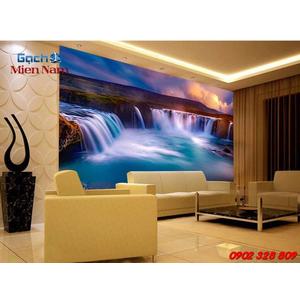 Gạch 3d ốp tường phòng khách TNM310