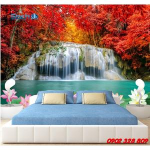 Gạch 3d ốp tường phòng khách TNM319