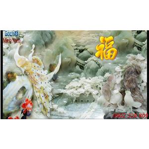 Gạch 3d Tùng Hạc Diên Niên HT02
