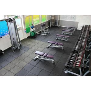 Gạch cao su phòng gym